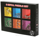 Metall-Puzzle 6er-Set